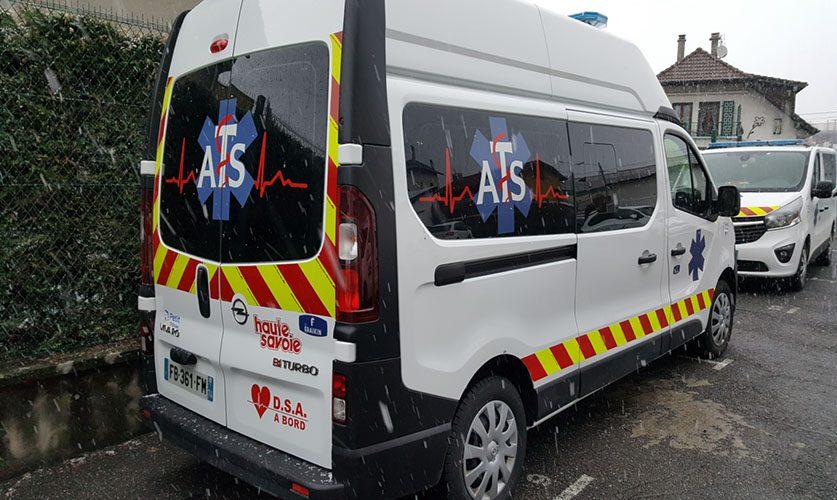 Marquage ambulance