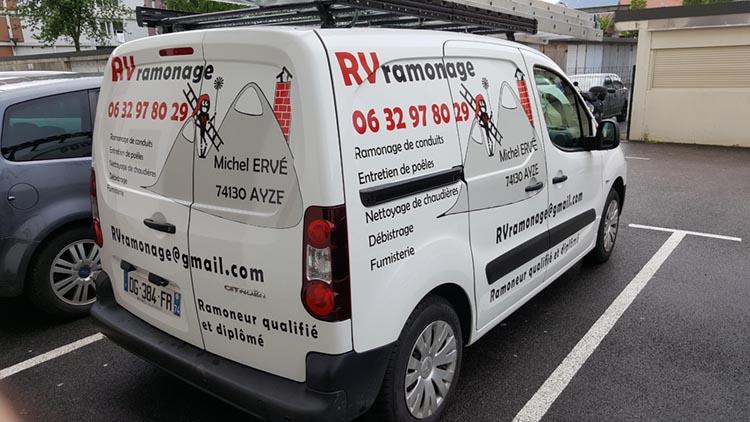 Décoration véhicule semi-covering